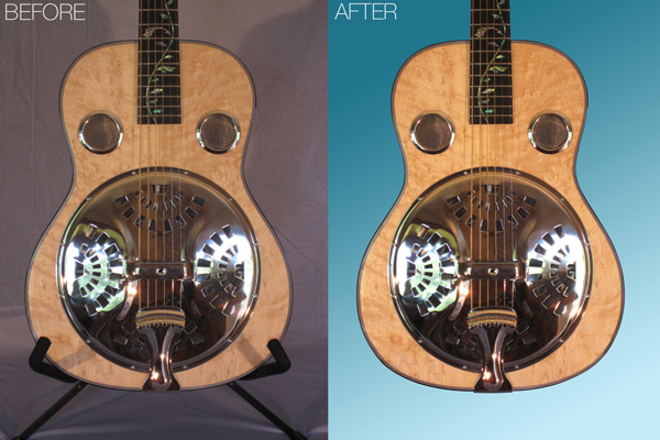 Roberts Luthiery Retouching